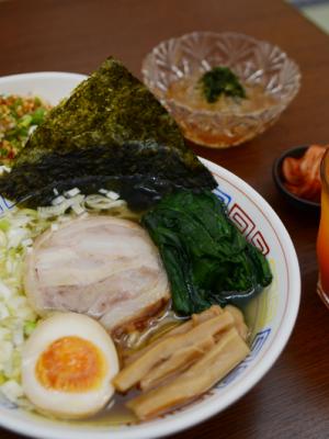 ชิโอะชูกะราเม็ง (Lunch Set)